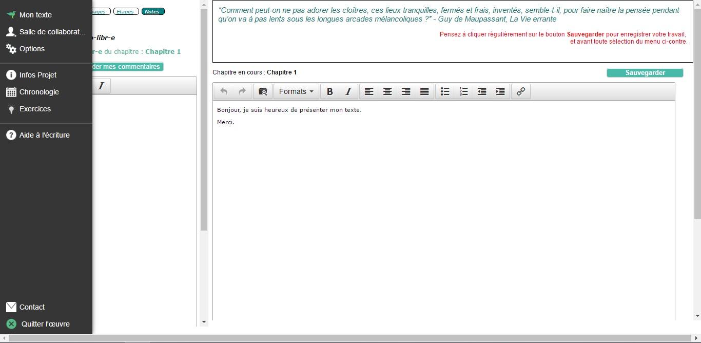 a70762c8e87 Logiciel pour écrire un livre - Espace d écriture